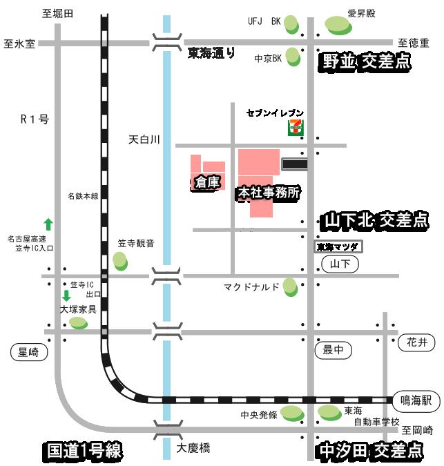 map-nagoyahonsya